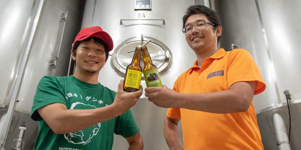 9月14日登場!<br>タッチダウン初のコラボビール「トロピカルラガー」は奇跡の出会いから生まれた!?
