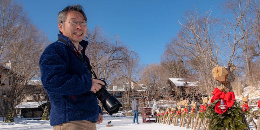「こんな仕事ができるのは日本中探してもここくらいかもしれない」<br>——萌木の村のディスプレイや写真を担当するモルゲン小林さん