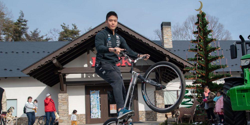 """「自転車も成長して""""よい人間""""になるプロセスのひとつ」<br>トライアルライダー・塩崎太夢"""